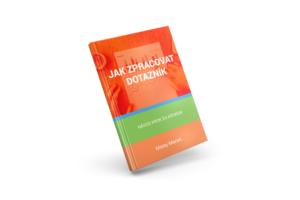 3D eBook cover - Jak zpracovat dotazník
